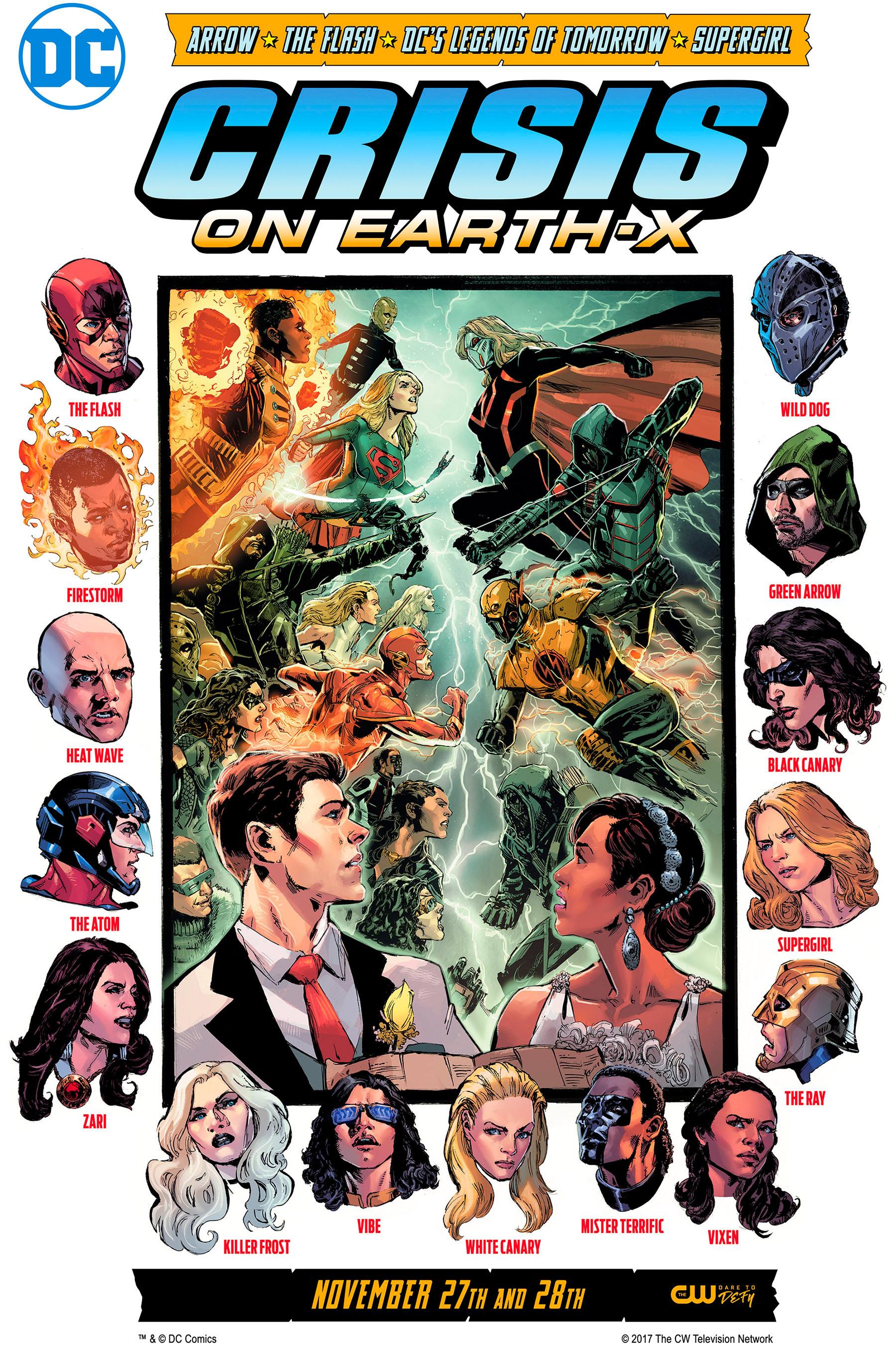 DC Serien Crossover Krise auf Erde-X Poster