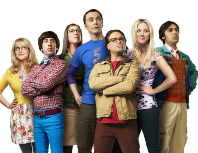 stars aus the big bang theory