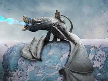 Game of thrones eisdrache