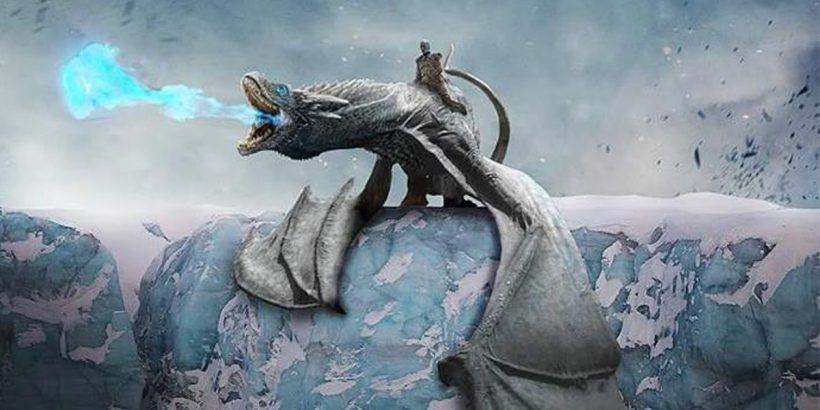 Game of thrones eisdrache