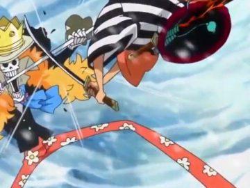 Beste-Serien - One Piece Brook Samurai Torso Duell der Schwerter
