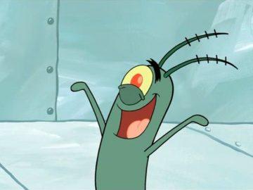 plankton spongebob
