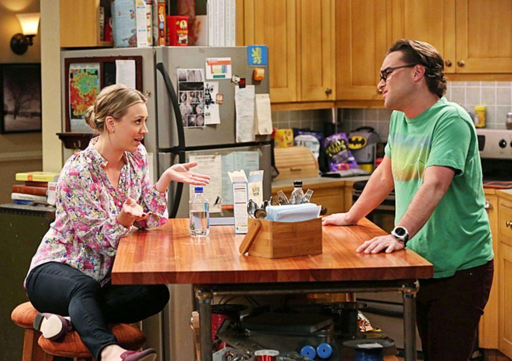 Leonard und Penny gegensätze