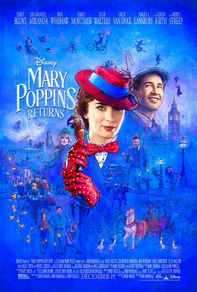 Mary Poppins' rückkehr poster