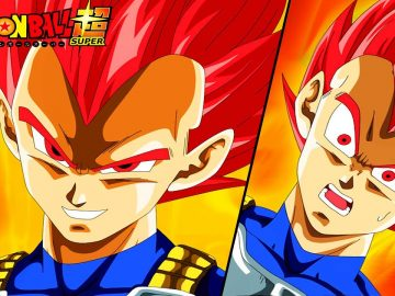 dragon ball super SSJG vegeta