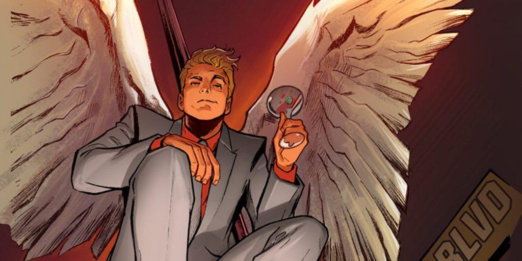 Lucifer comic blond