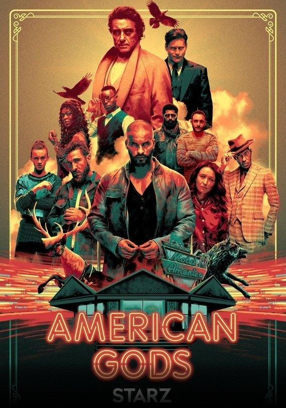 Amercian Gods Staffel 2 Poster