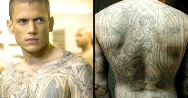 Prison Break Michael Scofield Tattoo