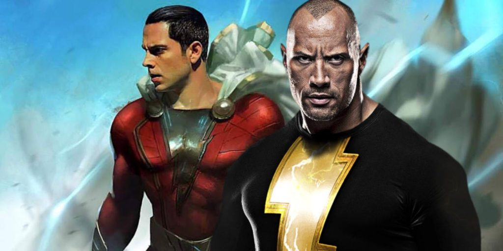 shazam! black adam the rock