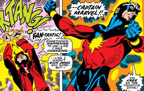 Shazam! als Captain marvel