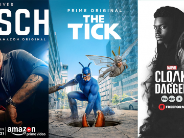 Amazon Prime Video April 2019