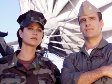 Catherine Bell David James Elliott JAG 1995