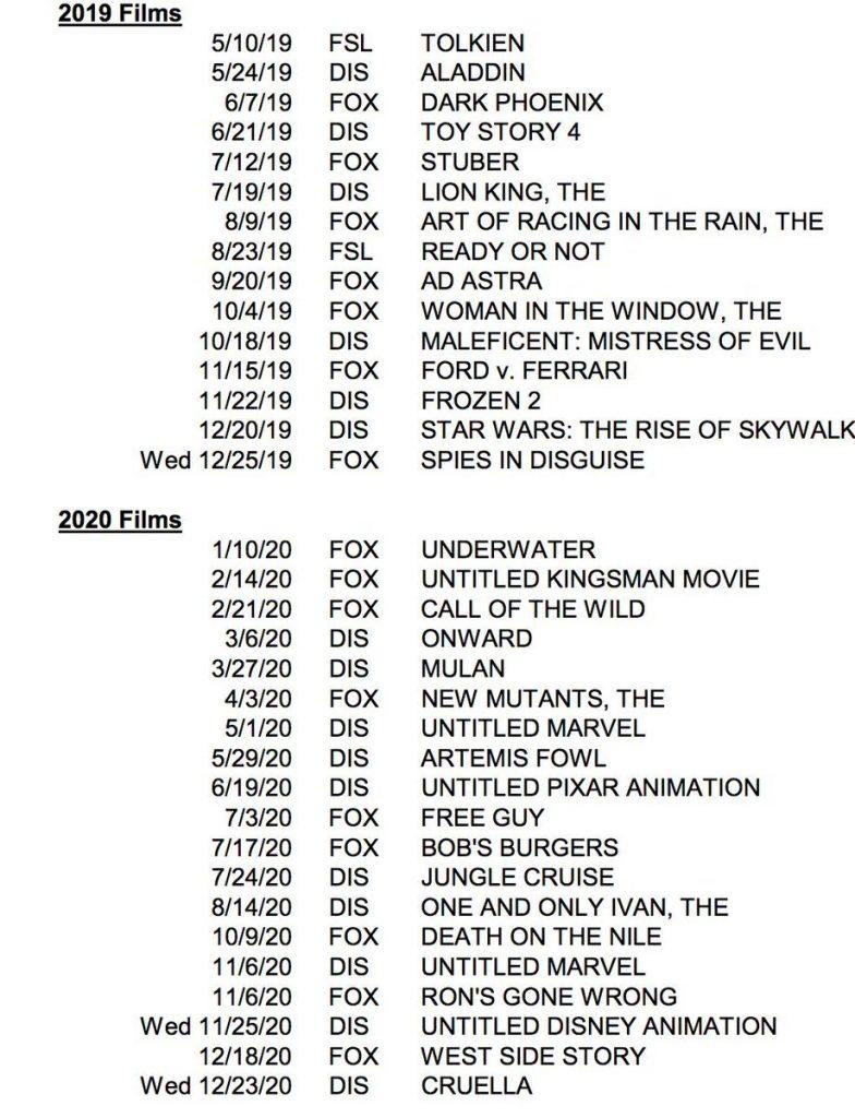 Filme Liste