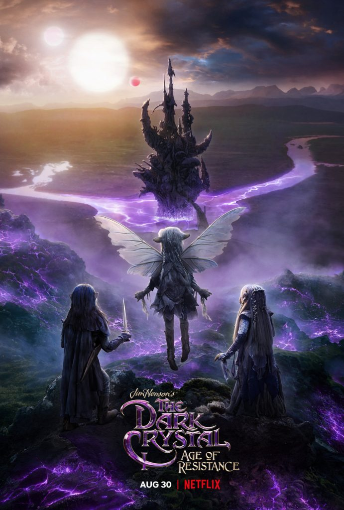 The Dark Crystal: Age of Resistance netflix poster