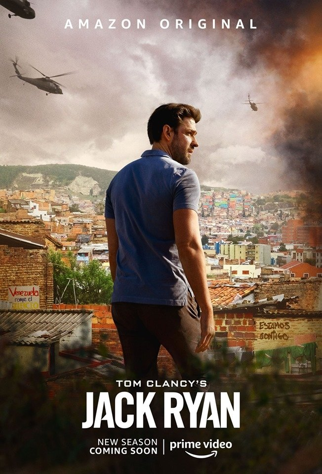 Tom Clancy's Jack Ryan Staffel 2 Trailer Poster