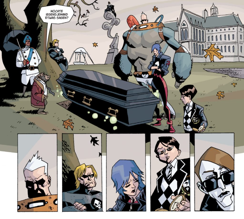 The Umbrella Academy Comic