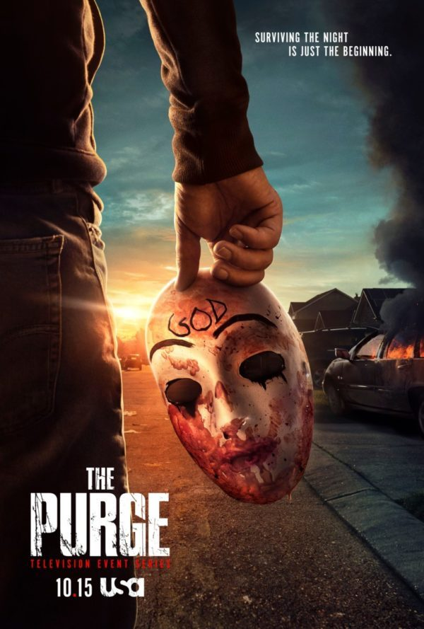 The Purge Staffel 2 Poster