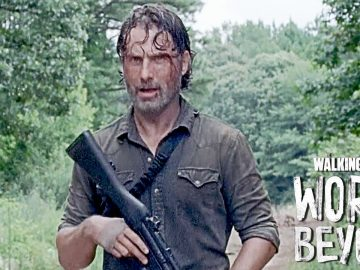 The Walking Dead World Beyond Rick grimes teaser trailer