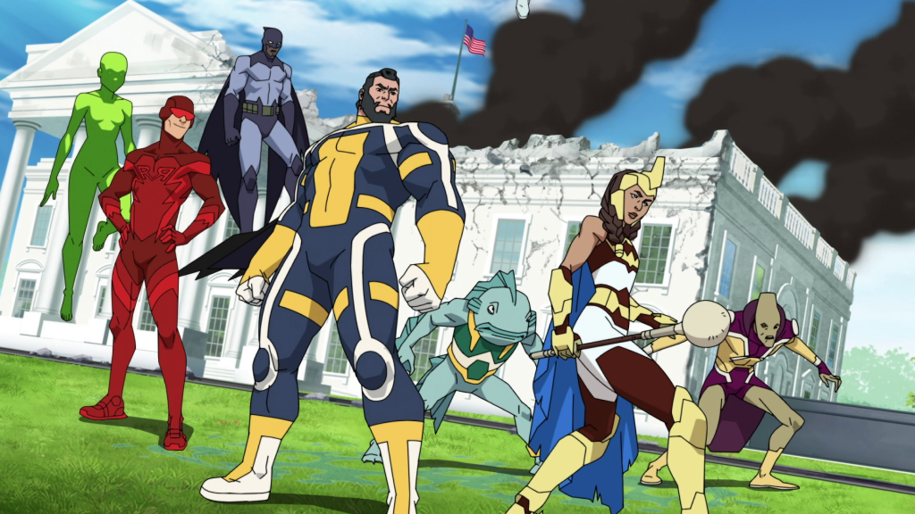 Invincible Guardians of the globe
